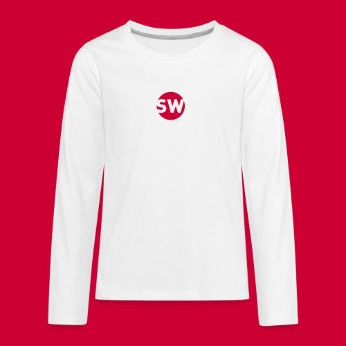 #Schiphol - krimpen of verhuizen! - Teenager Premium shirt met lange mouwen
