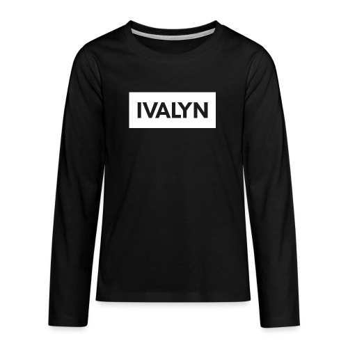 IVALYN2 png - Teenagers' Premium Longsleeve Shirt