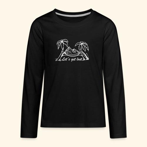 Globetrotter - Teenager Premium Langarmshirt