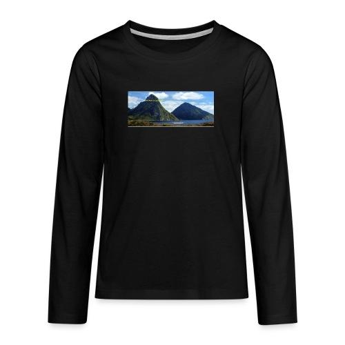 believe in yourself - Teenagers' Premium Longsleeve Shirt