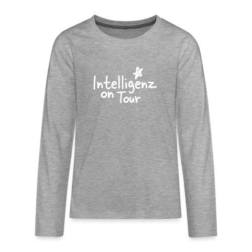 Nerd Shirt Intelligenz on Tour - Teenager Premium Langarmshirt