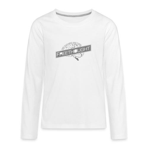 Freethought - Teenagers' Premium Longsleeve Shirt