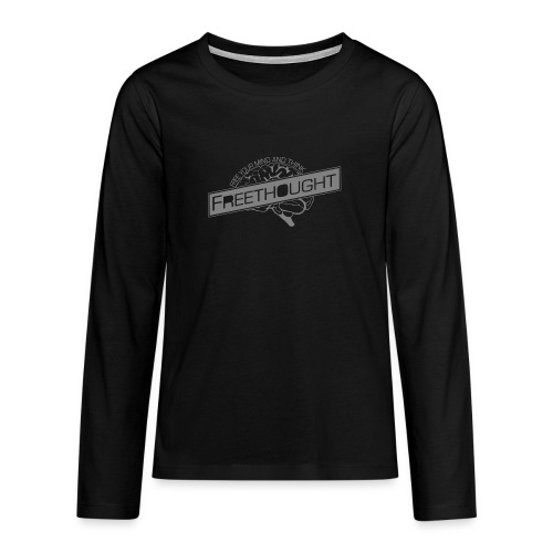 Freethought - Teenagers' Premium Longsleeve Shirt
