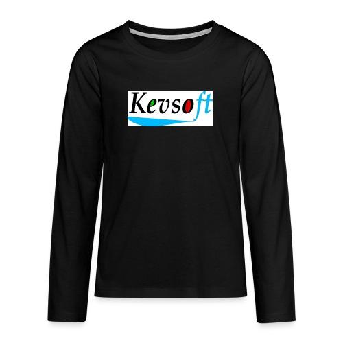 Kevsoft - Teenagers' Premium Longsleeve Shirt