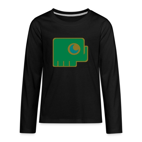 Elefant - Teenagers' Premium Longsleeve Shirt