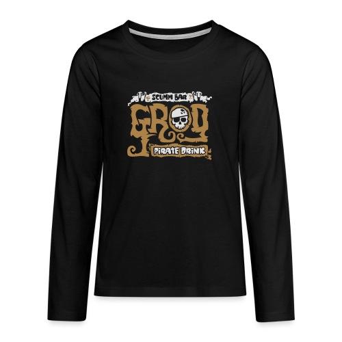 Scumm Bar Grog - Camiseta de manga larga premium adolescente