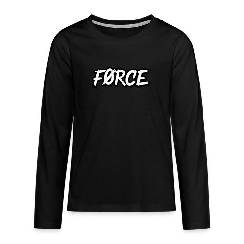 K - Teenager Premium shirt met lange mouwen