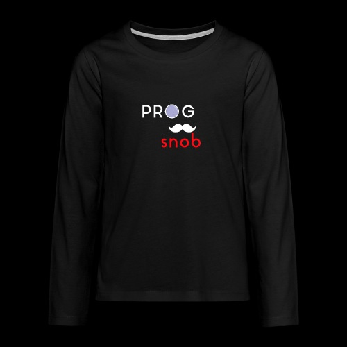 NUOVO3 png - Teenagers' Premium Longsleeve Shirt