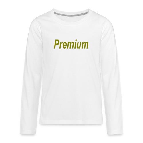 Premium - Teenagers' Premium Longsleeve Shirt