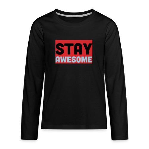 425AEEFD 7DFC 4027 B818 49FD9A7CE93D - Teenagers' Premium Longsleeve Shirt