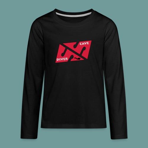 cave_diver_01 - T-shirt manches longues Premium Ado