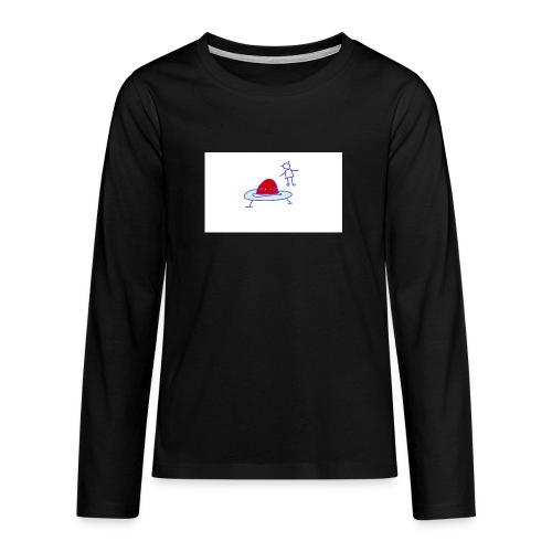 Project 3 - Camiseta de manga larga premium adolescente