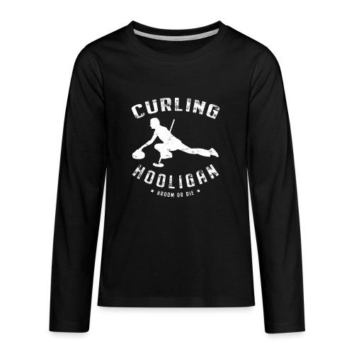 Curling Hooligan - Teenager Premium shirt met lange mouwen