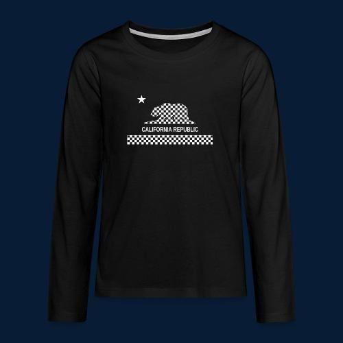 California Republic - Teenager Premium Langarmshirt