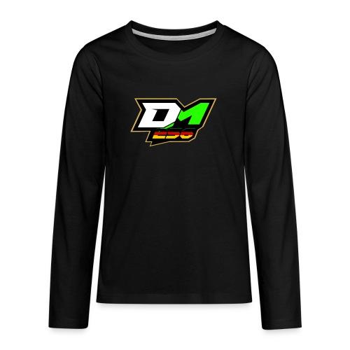 Dominik Mösedr - Teenager Premium Langarmshirt