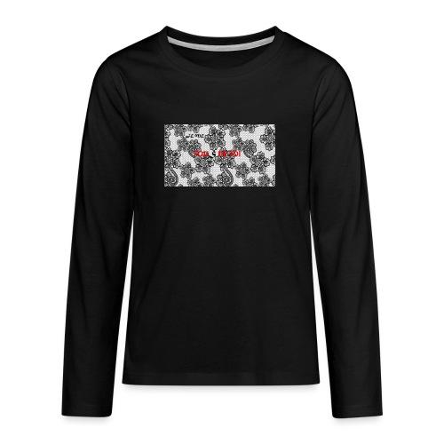 JE ME FOUS DE TOI 3 edite - T-shirt manches longues Premium Ado