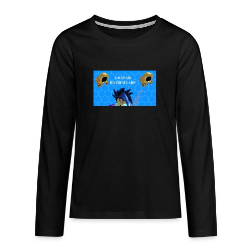 Go team mathew labs! - Teenagers' Premium Longsleeve Shirt