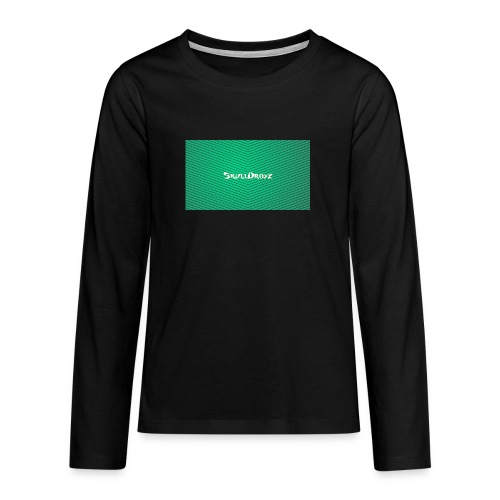 backgrounder - Teenager Premium Langarmshirt