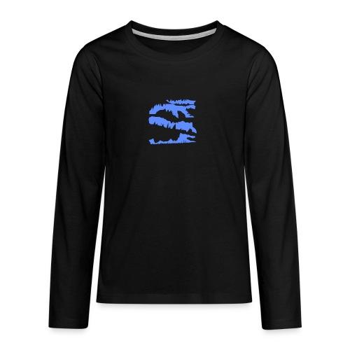 Blue_Sample.png - Teenager Premium Langarmshirt