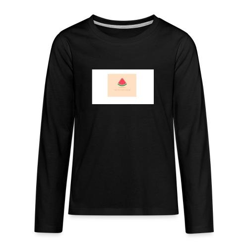 LOGO TPM - Teenager Premium shirt met lange mouwen