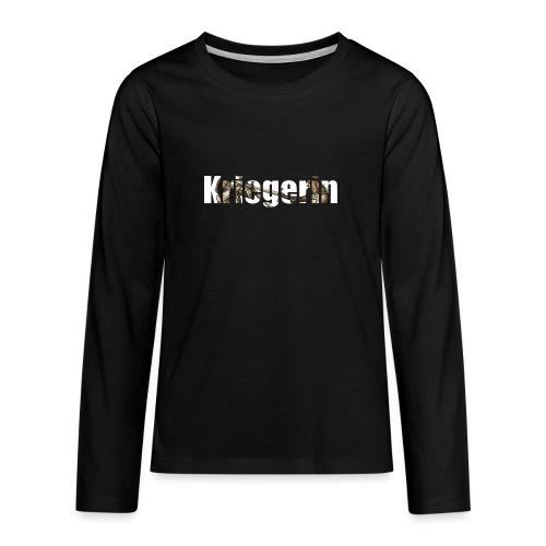 kriegerin - Teenager Premium Langarmshirt