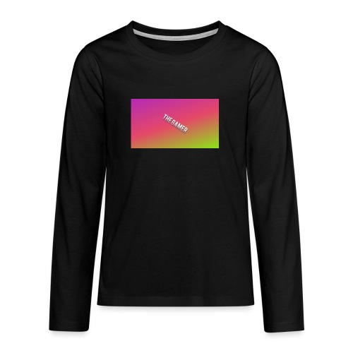 the gamer - Långärmad premium T-shirt tonåring