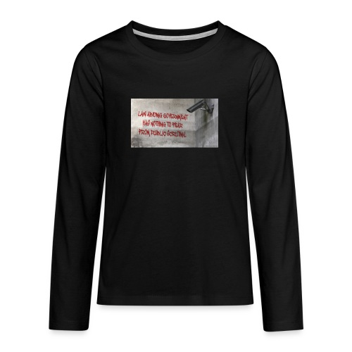 Nothing to Fear - Teenagers' Premium Longsleeve Shirt