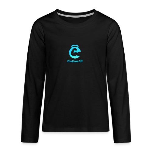 Clothes Uf - Långärmad premium T-shirt tonåring