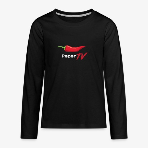 PeperTV - Teenager Premium shirt met lange mouwen