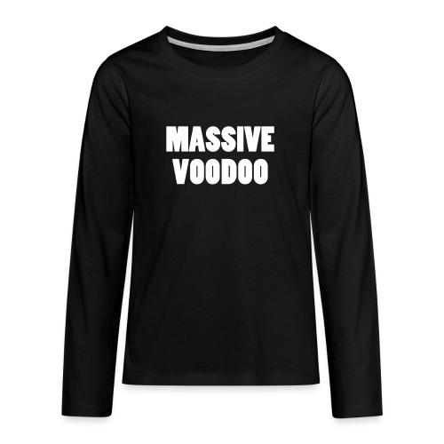 MVW Hotpants - Prestige Black - Teenagers' Premium Longsleeve Shirt