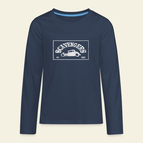 scavengers1 - Teenager premium T-shirt med lange ærmer