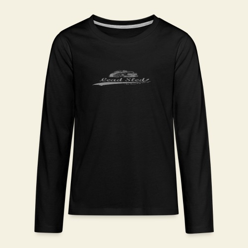 lead sled grey - Teenager premium T-shirt med lange ærmer