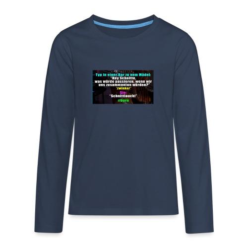 SchnitLauch - Teenager Premium Langarmshirt