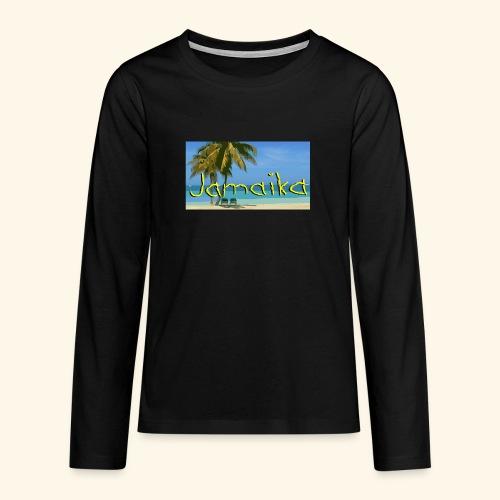 JAMAIKA - Teenager Premium Langarmshirt