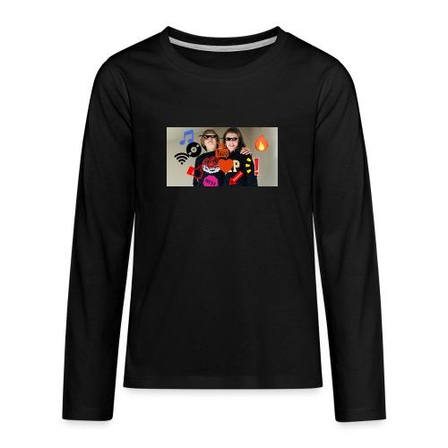 Coolrockskingen och Jojo - Långärmad premium T-shirt tonåring