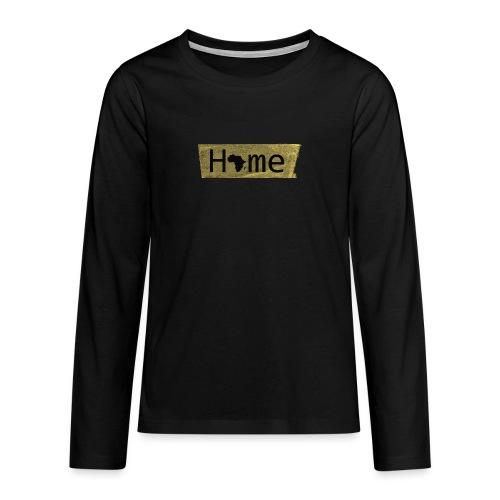 home in africa - Teenager Premium Langarmshirt