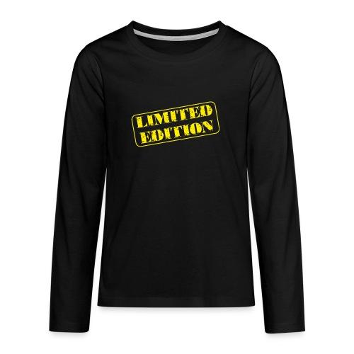 Limited Edition - Teenager Premium Langarmshirt