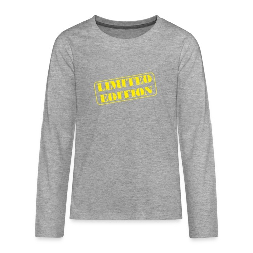 Limited Edition - Teenager Premium Langarmshirt