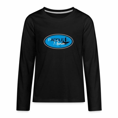 Paddle réunion classic 8 - T-shirt manches longues Premium Ado