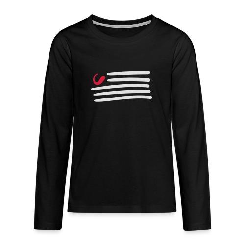 tweede - Teenager Premium shirt met lange mouwen