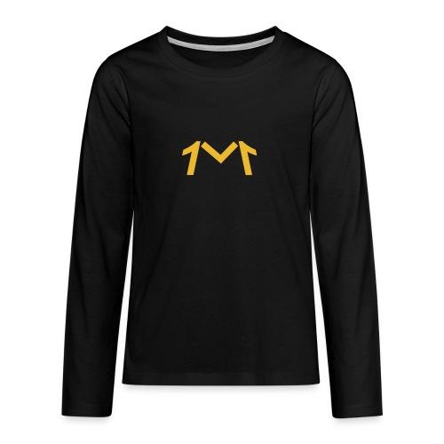 1M, LE LOGO DE L'UNIVERS - T-shirt manches longues Premium Ado