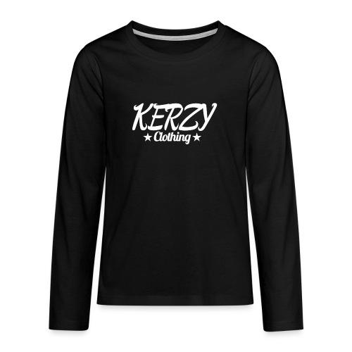 Official KerzyClothing T-Shirt - Teenagers' Premium Longsleeve Shirt