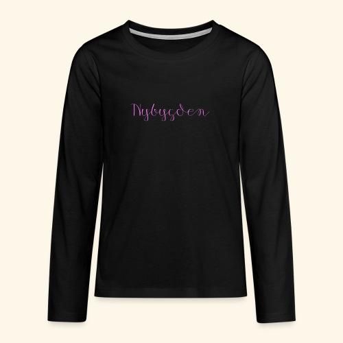 Nybygden - Långärmad premium T-shirt tonåring