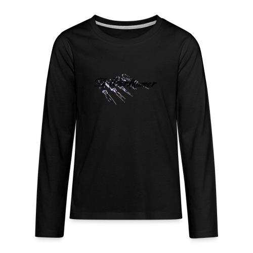 werkkamer edit - Teenager Premium shirt met lange mouwen