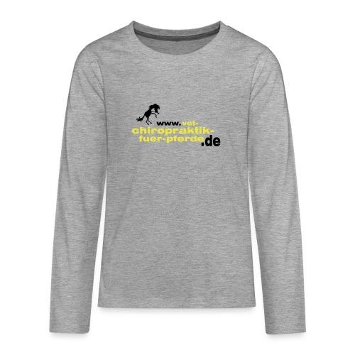 marta - Teenager Premium Langarmshirt