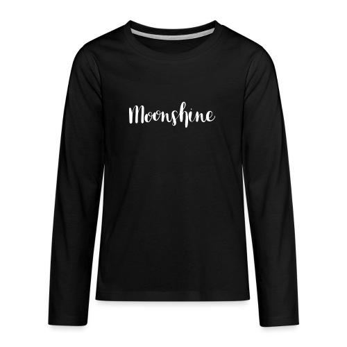 Moonshine - Teenager Premium Langarmshirt