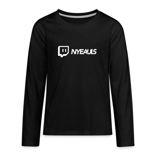 nyeauls twitch white png - Teenager Premium shirt met lange mouwen