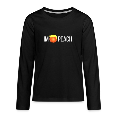 IMPEACH / Light Unisex Hoodie Sweat - Teenagers' Premium Longsleeve Shirt