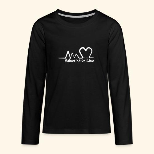 Valnerina On line APS maglie, felpe e accessori - Maglietta Premium a manica lunga per teenager