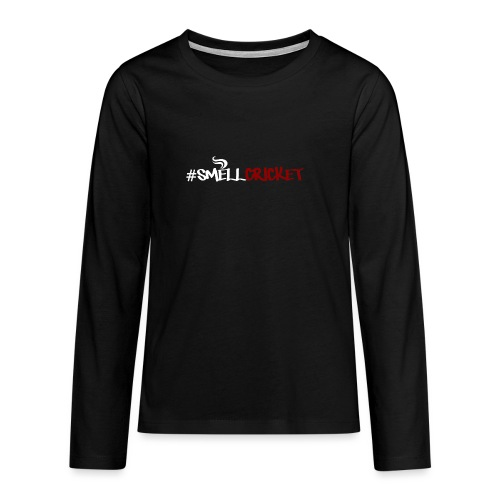 SmellCricket16 - Teenagers' Premium Longsleeve Shirt